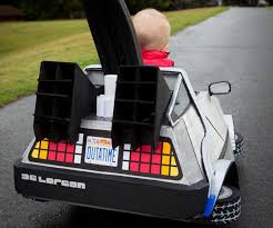 Marty Mcfly Halloween Costume Littlest Marty Mcfly Future Awesome Delorean