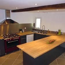 cuisine avec plan de travail en bois plan travail cuisine bois plan de travail bois cuisine quel bois