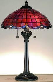 chloe tiffany style bronze pedestal lamp pedestal hurricane