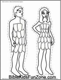 adam and eve in the garden of eden crafts coloring pages and play