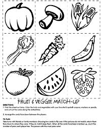 1 print copies fruit u0026 veggie match 2