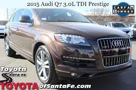 pre owned 2015 audi q7 3 0l tdi prestige sport utility vehicle in