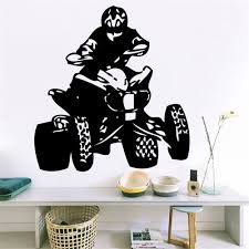 online get cheap quad wall decals aliexpress alibaba group vinyl wall decal sticker bedroom quad bikes cars sport championship man mural for living room home