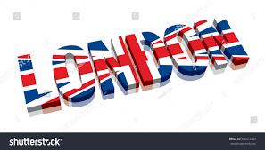 London Flag Photos 3d London Union Jack British Flag Stock Vektorgrafik 388372489