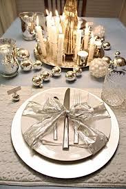 idee per la tavola decorazioni tavola di natale in stile shabby chic foto 15 40