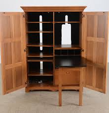 Cherry Computer Armoire by Modern Computer Armoire Image Yvotube Com