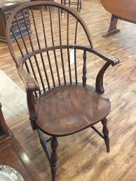 Oak Table With Windsor Back Chairs 1 Windsor Back Chair