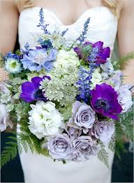 Blue And Purple Flowers 217 Best Wedding Flowers That Are Passionate About Purple Images