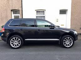 54 vw touareg 2 5 tdi sport 6 speed manual gearbox in newport