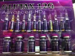 Glutax Inj 12g advanced hd white glutathione skin whitening http www