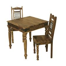 90 Dining Table Bali Sheesham 90 X 90 Compact Square Dining Table