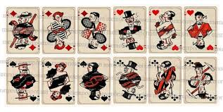 deco cards atc aceo card twenties 20s 1920s
