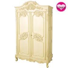 White Armoire Wardrobe Bedroom Furniture by Parisian Carved Cream Armoire Armoires U0026 Wardrobes Storage