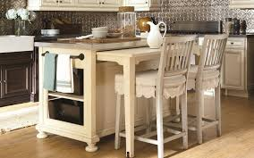 kitchen island table portableetal cart on casters counterovable