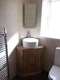 Corner Bathroom Sink Cabinet Corner Sinks With Mirror Smart Alternative For Space Saving