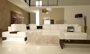 Modern Leather Sectional Couch Modern White Leather Sectional Sofa