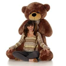 teddy bears cuddles 60in mocha size plush teddy teddy