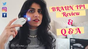 intense pulsed light review braun ipl silk expert review q a youtube