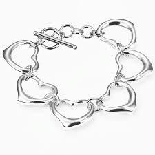 heart links bracelet images Links bracelet 925 silver plated jpg