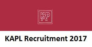 kapl recruitment 2017 notification for 29 professional service