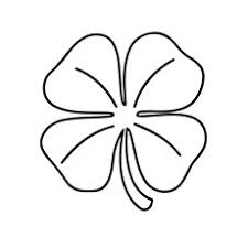Four Leaf Clover Color Page top 20 free printable four leaf clover coloring pages
