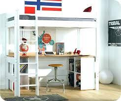lit mezzanine bureau blanc lit e etage avec bureau lit mezzanine avec bureau et armoire