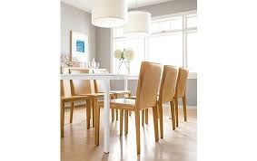 Modern Leather Dining Room Chairs Sava Dining Chairs With Pratt Table Modern Dining Room Furniture
