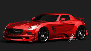 car mercedes red red and black sports cars 10 desktop background hdblackwallpaper com
