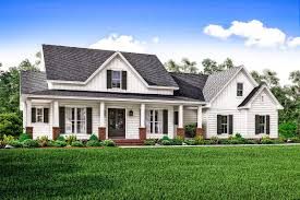 Country Home Plans With Front Porch Plan 51745hz Country House Plan With Flex Space And Bonus Room