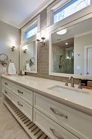 Open Shelf Bathroom Vanities Atlanta Bathroom Vanity Lighting Traditional With Open Shelves