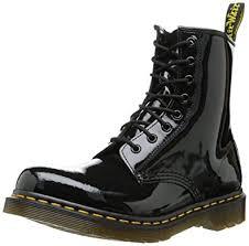 womens boots amazon uk dr marten s original 1460 patent s boots amazon co uk