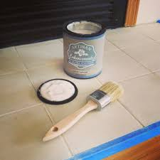 Paint Tile Fireplace by The Real Housewife Of Tazewell County An Annie Sloan Makeover