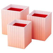 Modern Desk Organizers by Desk Accessories Paper Media Organizers Ikea Hejsan Pen Cup Set Of