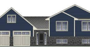 side split house plans 12 cool side split house architecture plans 14343