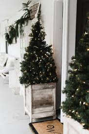 trim a home outdoor christmas decorations 25 unique porch christmas tree ideas on pinterest christmas
