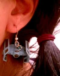 wars earrings wars millennium falcon and tie bomber earrings pics