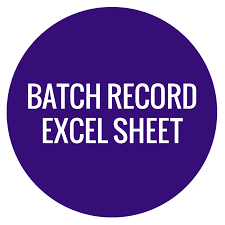 Safety Tracking Spreadsheet Batch Record Excel Sheet Wholesale Supplies Plus