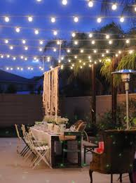Patio Furniture Lighting Lighting Ideas Patio Lighting Idea With Led Rope Lights