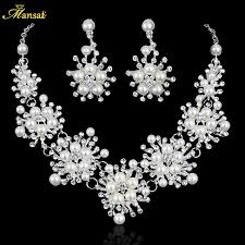 32 best wedding necklace and earrings images on pinterest