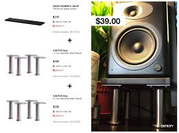 can i put the swan m50w speakers on these head fi org