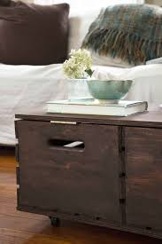coffee table make a herringbone wood toy box storage ottoman hgtv