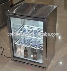 small beer fridge glass door single door table top mini bar design beer chiller cooler glass