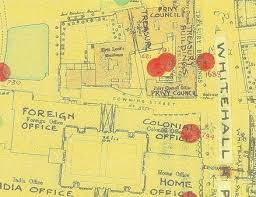 Downing Street Floor Plan 14 October 1940 10 Downing Street Bomb Incidents West End At War