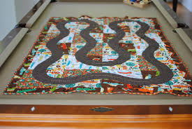 Map Quilt Race Car Quilt Big Boy Bed Jana Banana