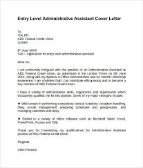 great sample of cover letter for administrative position 84 about
