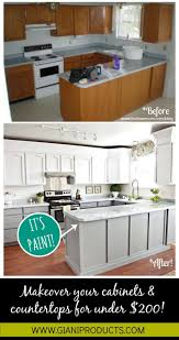 how to redo kitchen cabinets on a budget kitchen update on a budget paint that looks like granite and one