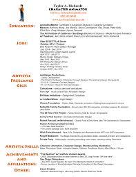 animated resume resume taylor u0027s portfolio and animation reel