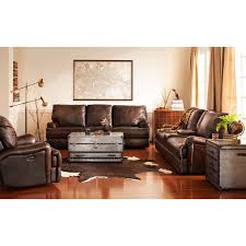 Livingroom Sofas Kingsway Power Reclining Sofa Brown Value City Furniture