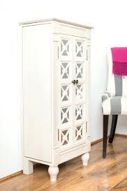 White Computer Armoire by Antique Cherry Armoire Large Jewelry Stand Mirror Cabinet Storage