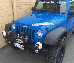 light blue jeep pro comp 1x 100 watt 6
